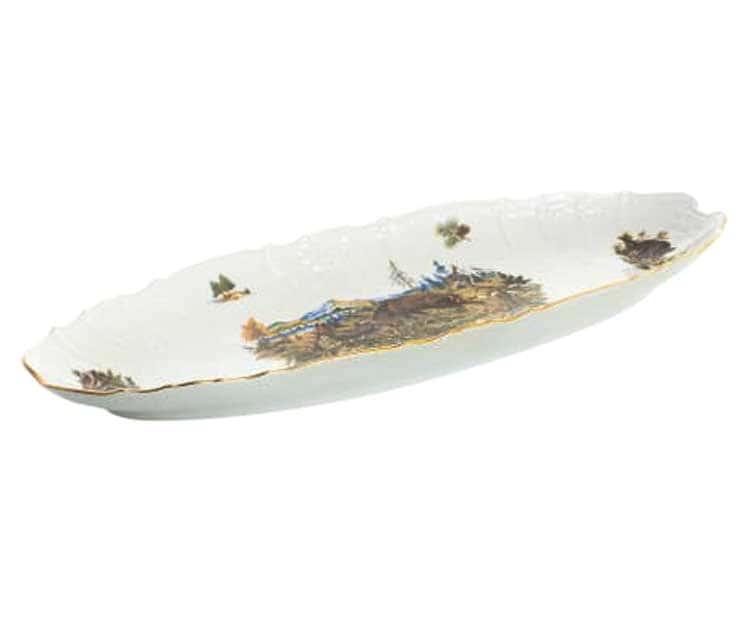 Бернадотт Охота Блюдо для рыбы 52 см