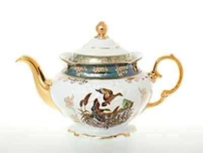 Фредерика Охота Зеленая Чайник 1,2 л Roman Lidicky