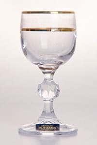 Клаудия Золото Набор рюмок Crystalite Bohemia 432067 50 мл