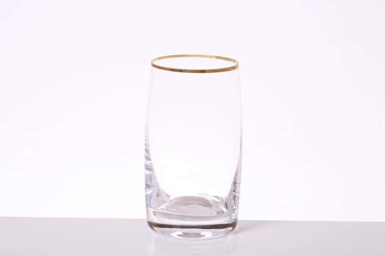 Идеал Золото Набор стаканов для воды Bohemia Gold 250 мл