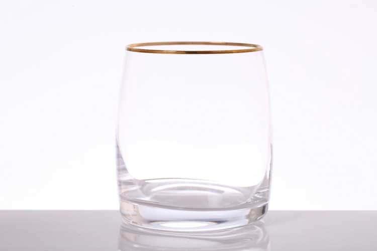 Идеал Золото Набор стаканов для виски Bohemia Gold 290 мл