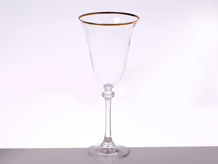 Идеал Золото Набор бокалов для вина Bohemia Gold 350 мл