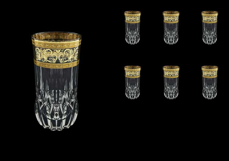 Adagio Allegro Golden Light Decor Набор стаканов для воды 400 мл Astra Gold (6 шт)
