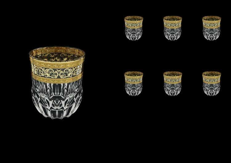Adagio Allegro Golden Light Decor Astra Gold Набор стаканов для виски 350 мл Astra Gold