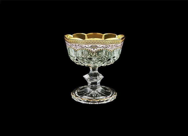 Opera Floras Empire Golden White Decor Конфетница на ножке 12 см Astra Gold