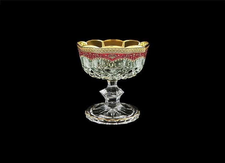 Opera Floras Empire Golden Red Decor Конфетница на ножке 12 см Astra Gold