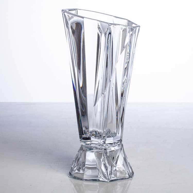 ENIGMA Ваза для цветов на ножке Crystalite Bohemia 38 см