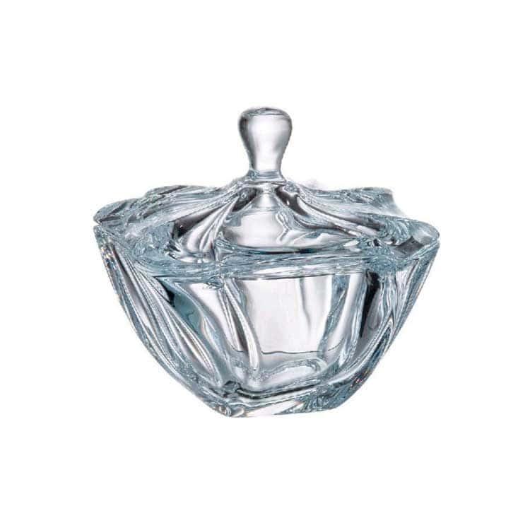 NEPTUNE Конфетница с крышкой Bohemia Crystal 13 см 34820