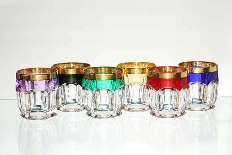 Safari Радуга Набор стаканов 250 мл Crystalite Bohemia
