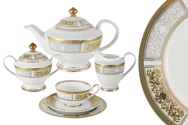 Елизавета Чайный сервиз Midori 23 предмета на 6 персон