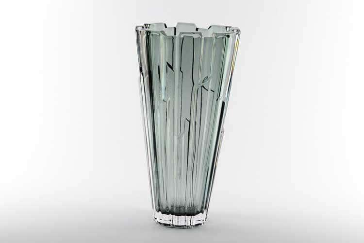 Болеро серая Ваза для цветов Bohemia Treasury 30 см