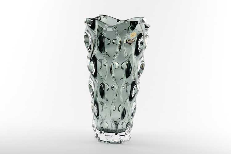 Самба серая Ваза для цветов Bohemia Treasury 30 см