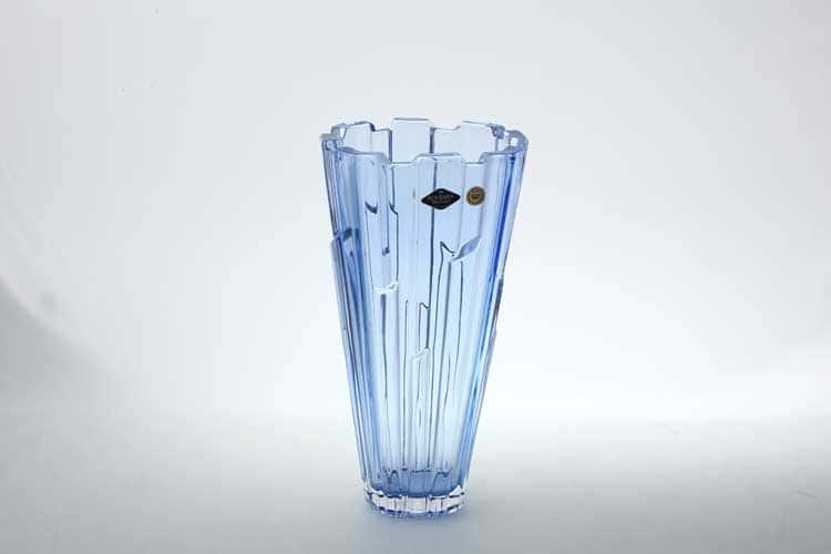 Bolero синяя Ваза для цветов Bohemia Treasury 30 см