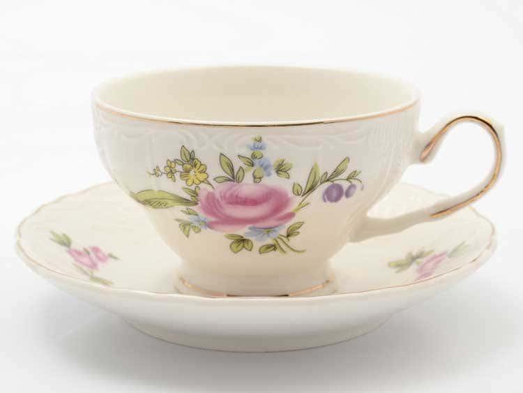 Набор чайных пар Полевой цветок Royal Classics 6 шт