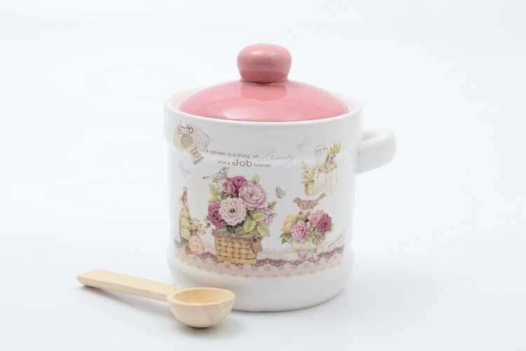 Garden Банка для сыпучих продуктов с ложкой 13*11*12 см Royal Classics