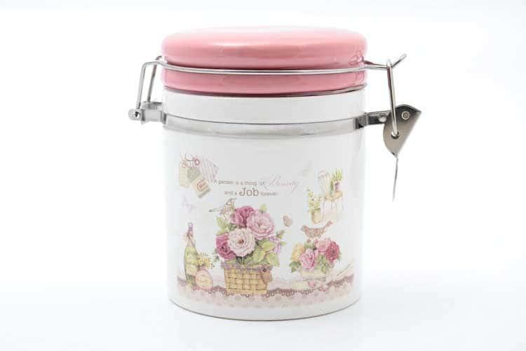 Garden Банка для сыпучих продуктов 470 мл. 12,3*10,2*12 см Royal Classics