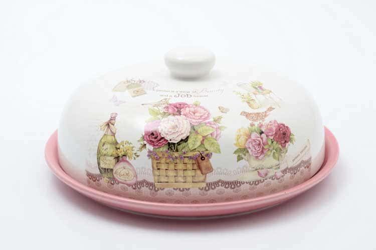 Garden Блюдо для блинов с крышкой 23*23*10 см Royal Classics