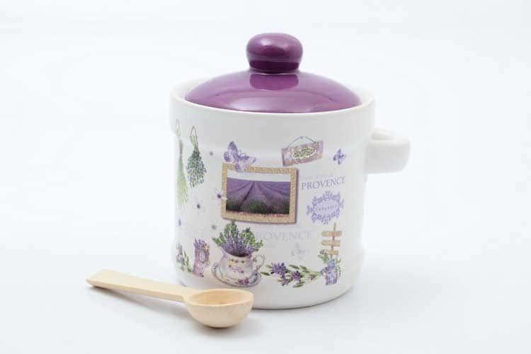 Provence Банка для сыпучих продуктов с ложкой 13*11*12 см Royal Classics