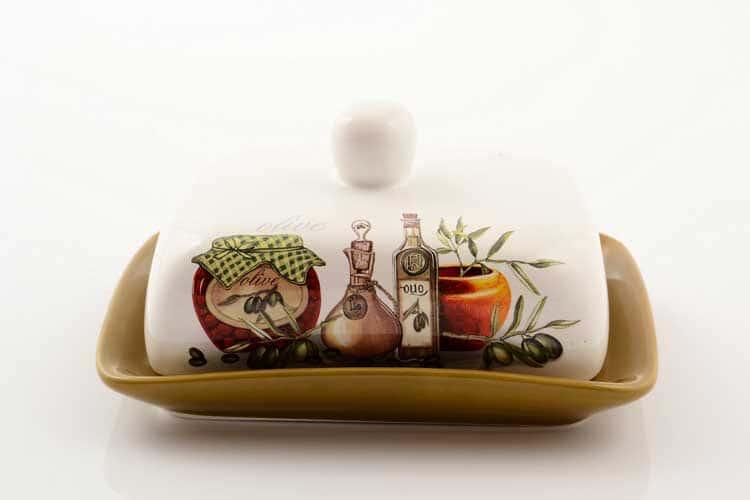 Olive Маслёнка с крышкой 17,5*13,5*9 см Royal Classics