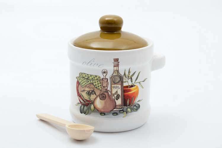 Olive Банка для сыпучих продуктов с ложкой 13*11*12 см Royal Classics