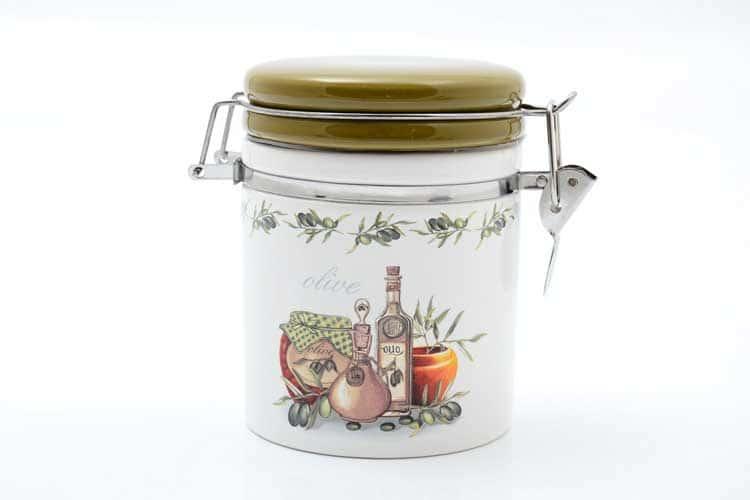 Olive Банка для сыпучих продуктов 470 мл. 12,3*10,2*12 см Royal Classics