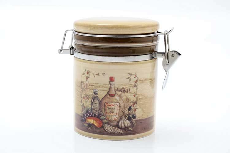 Garlic Банка для сыпучих продуктов 470 мл. 12,3*10,2*12 см Royal Classics