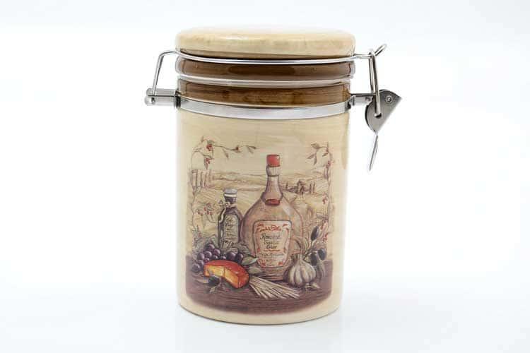 Garlic Банка для сыпучих продуктов 800 мл. 12*10*17 см Royal Classics