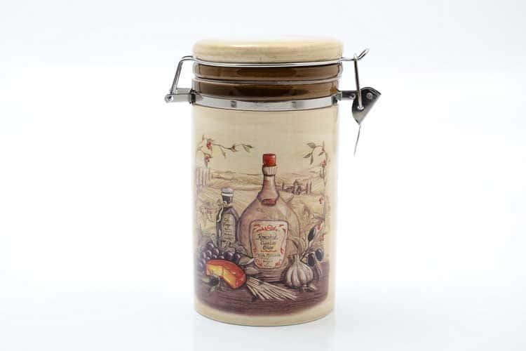 Garlic Банка для сыпучих продуктов 900 мл. 12*10*17 см Royal Classics