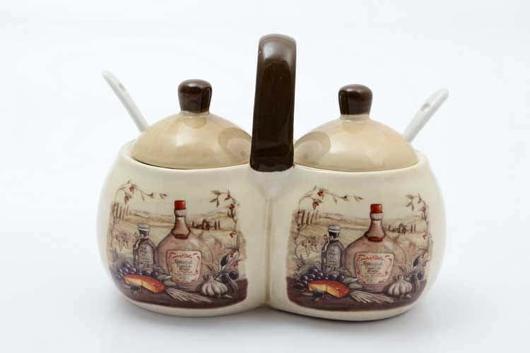 Garlic Банка для специй с ложками 2*250 мл. + 2 ложки 15,6*9*12 см Royal Classics