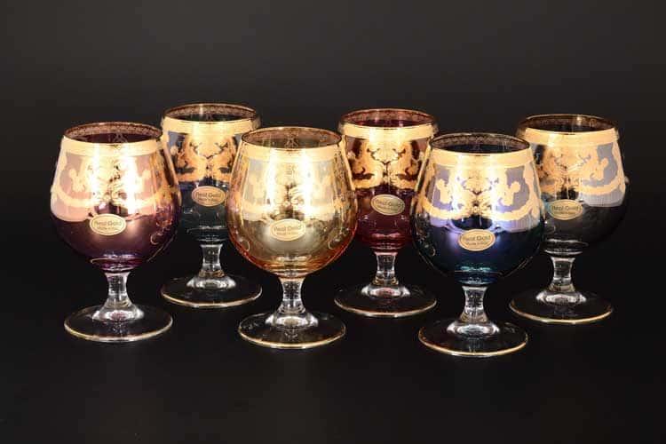 Veneziano Color Набор бокалов для бренди Art Decor