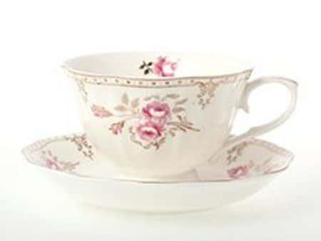 Набор чайных пар Royal Classics 200 мл мелкие цветы