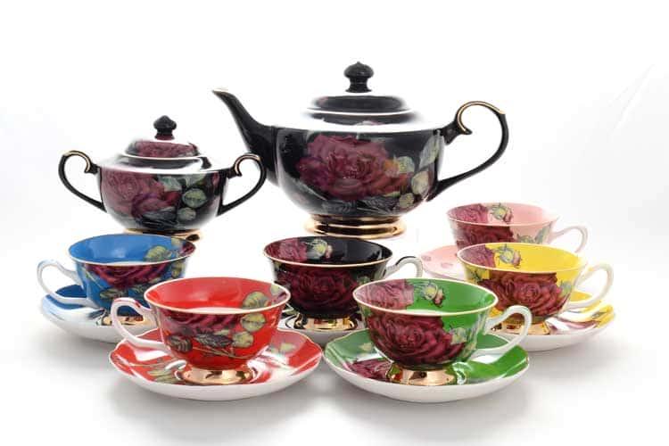 Радуга Rose Чайный сервиз 14 предметов Royal Classics