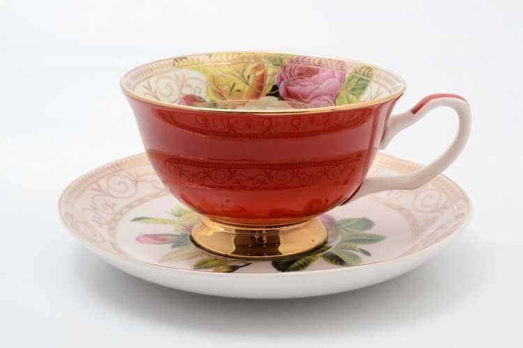 Радуга red Набор чашка с блюдцем 220 мл 2 предмета Royal Classics