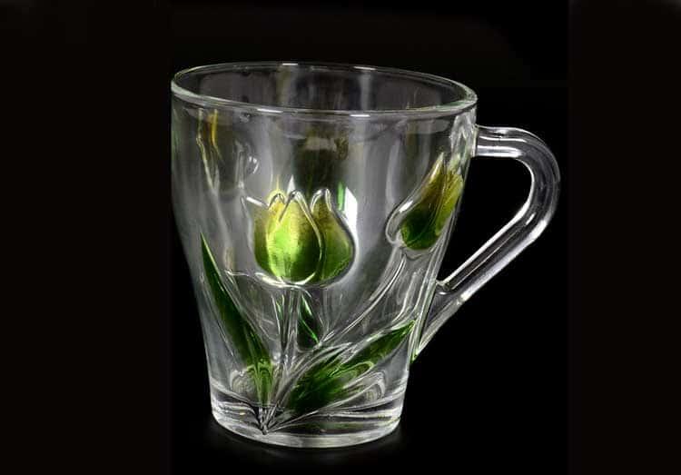 Зеленые тюльпаны Набор кружек 230 мл (6 шт) Royal Classics