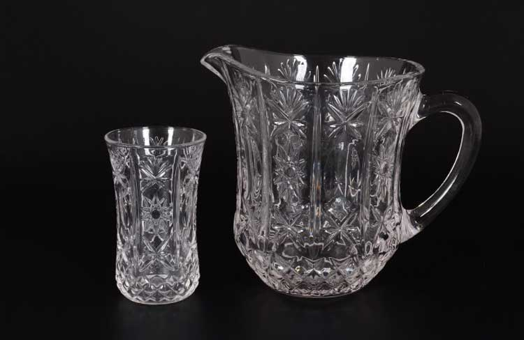 Набор для воды Royal Classics 7 предметов графин и высокие стаканы