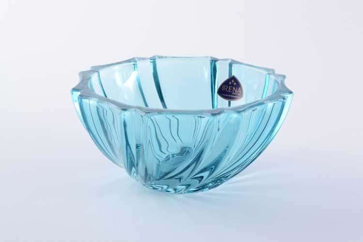 Инфинити голубая Конфетница 12 см IRENA HOLDING