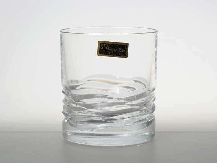 WAVE Набор стаканов для виски 290 мл RCR STYLE PRESTIGE (2 шт)