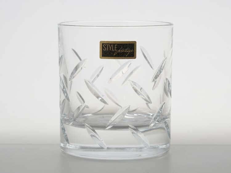 STEEL Набор стаканов для виски 290 мл RCR STYLE PRESTIGE (2 шт)