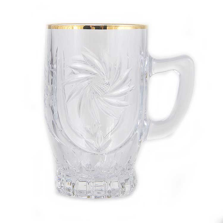 Голд Набор для чая на 6 перс Union Glass