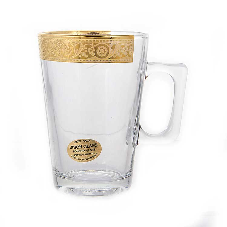 Богемия Джесси Набор для чая Union Glass на 6 перс.