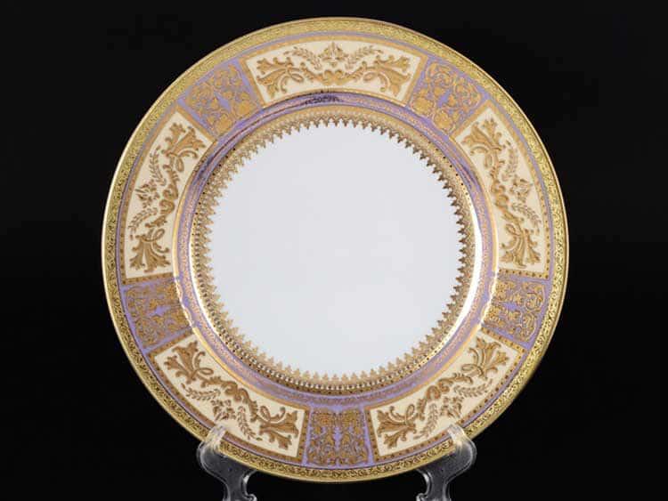 Diadem Violet Creme Gold Блюдо круглое 32 см Falken
