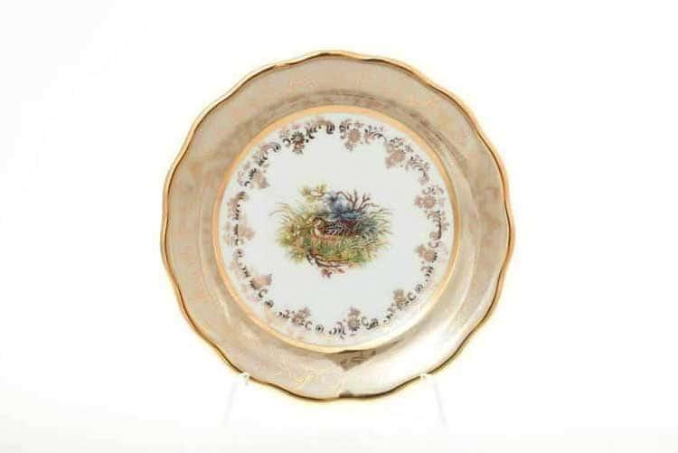 Охота Бежевая Набор тарелок 17 см Sterne porcelan
