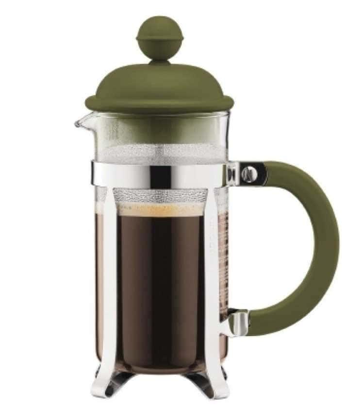 Caffettiera Кофейник с прессом Bodum 0.35 л. зеленый