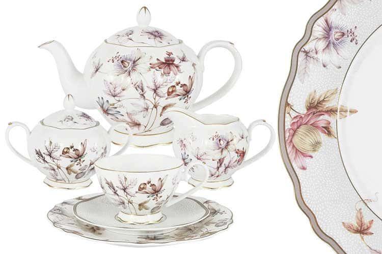 Фантазия Чайный сервиз Emily 21 предмет на 6 персон