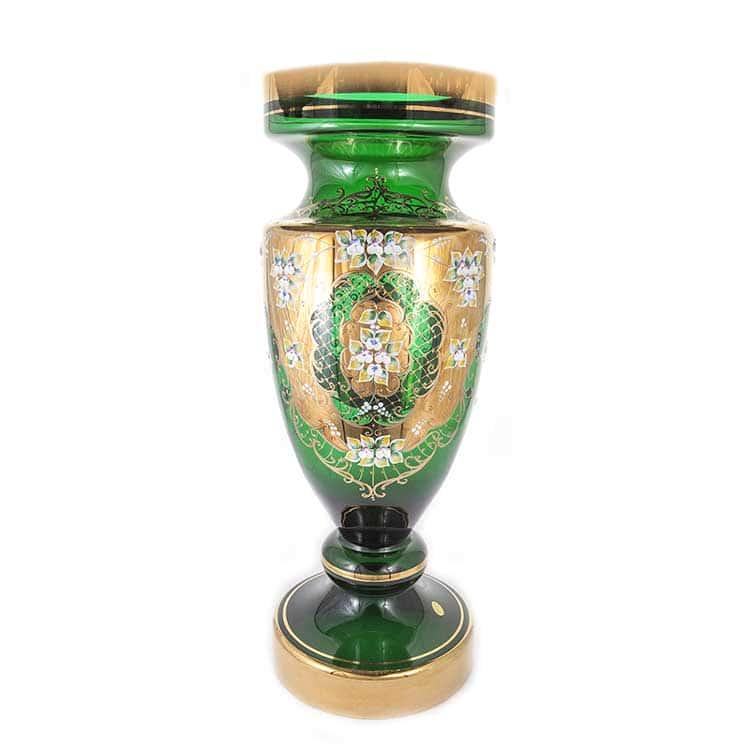 Лепка зеленая 8149 Ваза для цветов U. Glass 70 см