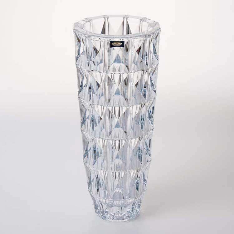 Диамонд Ваза для цветов 33 cм Crystalite Bohemia