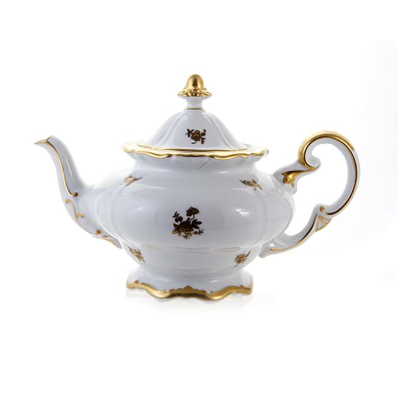 Роза золотая Чайник 1,2 л Weimar