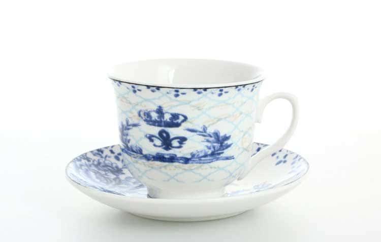 Набор чайных пар Royal Classics 220 мл (6 шт)