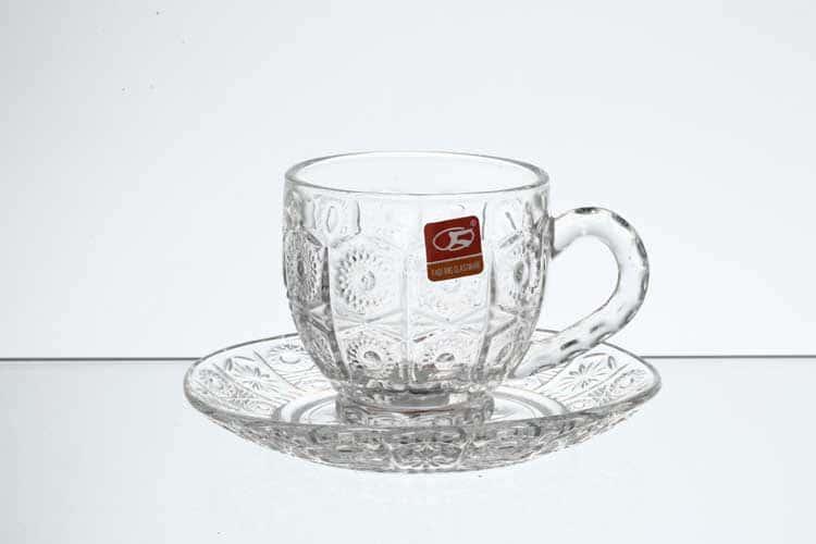 Набор чайных пар из стекла Royal Classics (6 шт)