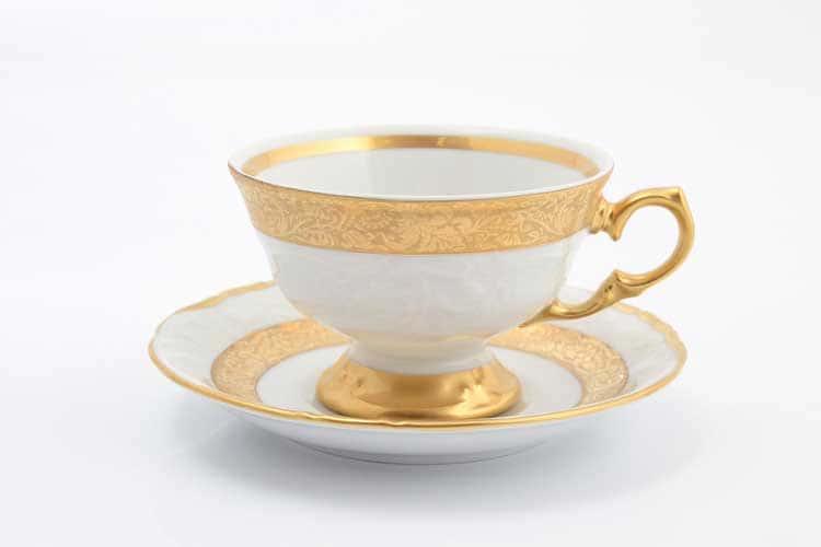 Матовая лента Набор чайных пар Sterne porcelan 220 мл (6 пар)